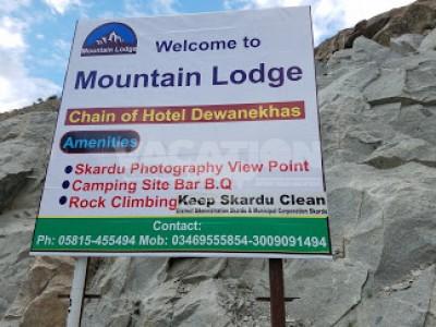 Mountain Lodge Hotel Skardu - Deluxe Room