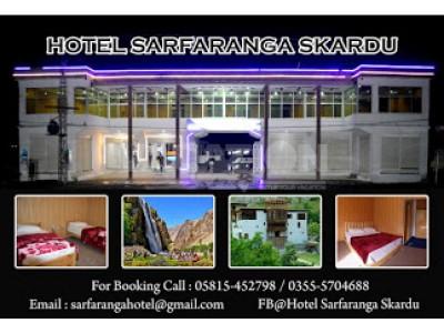 HOTEL SARFARANGA & RESTAURANT Skardu - Deluxe Room