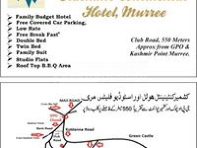 Kashmir Continental hotel Murree