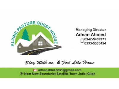 Alpine Pasture Guest House Gilgit - Deluxe Twin Room