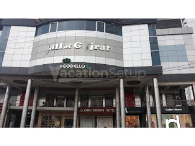 Hotel Euro Heights Gujrat - Deluxe Room